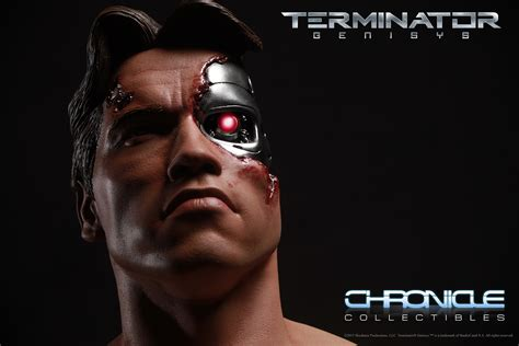 Toys Terminator Genisys T 800 Guardian Battle Damaged 1 6 chronicle terminator genisys 1984 t 800 battle damaged
