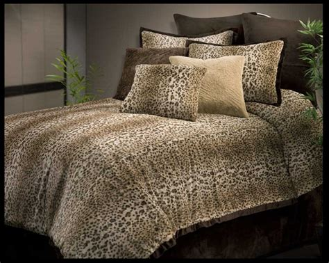 cheetah comforter sets cheetah fur by veratex 4pc queen comforter set taupe