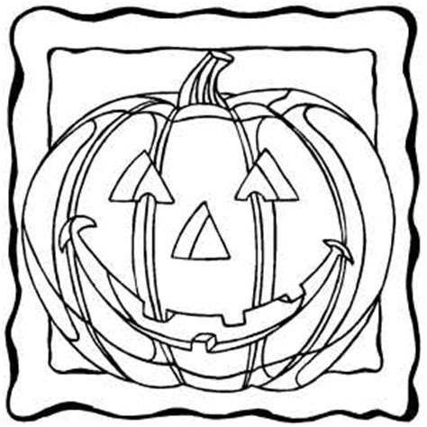 smiling pumpkin coloring pages smiling pumpkin in frame coloring page