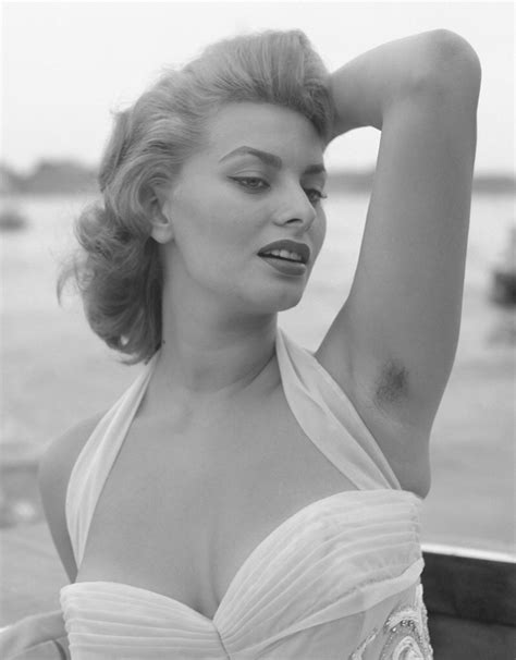 hair armpit olderwomen pictures sofia loren with hairy armpits venice 1955 http ift tt