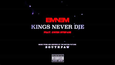eminem kings never die lyrics eminem kings never die ft gwen stefani lyrics youtube