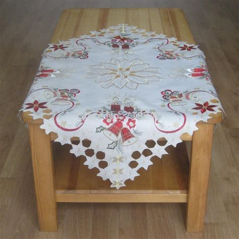 new 85 85cm embroidery tablecloth polyester