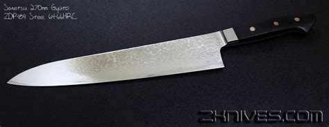 zdp 189 kitchen knives zdp 189 kitchen knives sanetsu 270mm gyuto zdp 189 steel 64 66hrc corroded zdp 189 blades