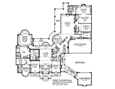 7 bedroom floor plans 7 bedroom house plans photos and