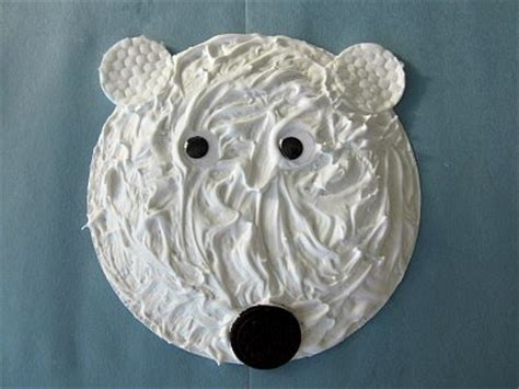 Polar Paper Plate Craft - preschool crafts for 9 awesome polar crafts