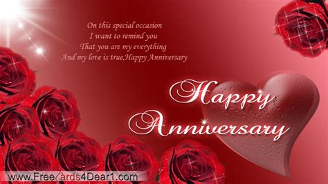 Make Your Own Anniversary Card Free
