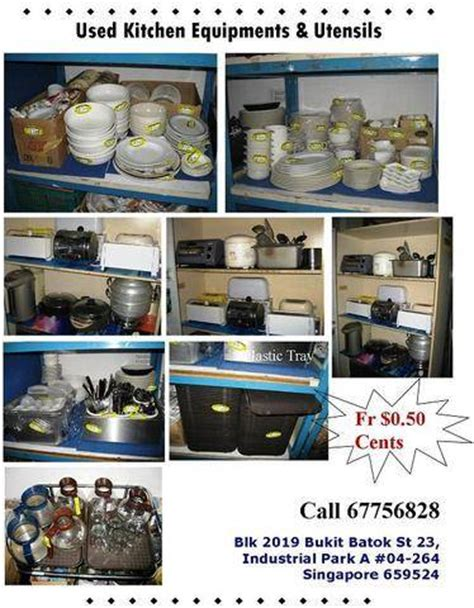 used kitchen and utensils equipment for sales appliances