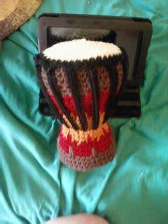 Drum Pattern Happy | ravelry djembe drum pattern by jessica evans