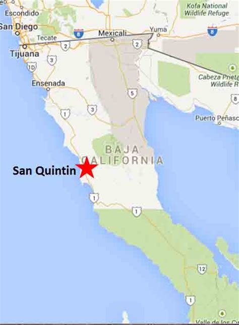 San Quintin   On The Road In Mexico