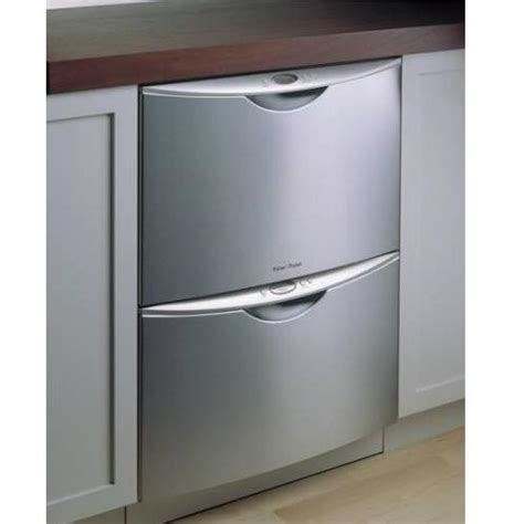Fisher Paykel Stainless Steel Double Drawer Dishwasher