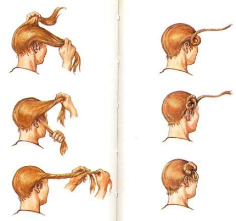 german warrior haircuts how to tie your hair in a suebian knot the distinctive