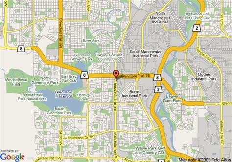 map of south canada map of calgary south travelodge calgary