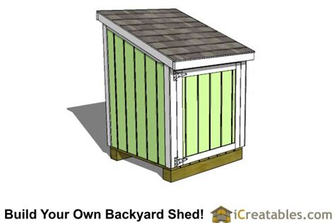 4x4 Shed by 4x4 Generator Enclosure Shed Plans Build Your Own