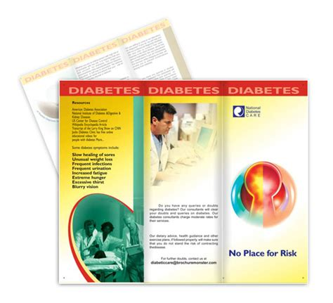 National Diabetes Care Flyer Templates Diabetes Brochure Templates Free
