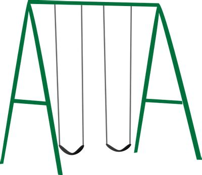 swing clip playground swing set clipart clipart suggest