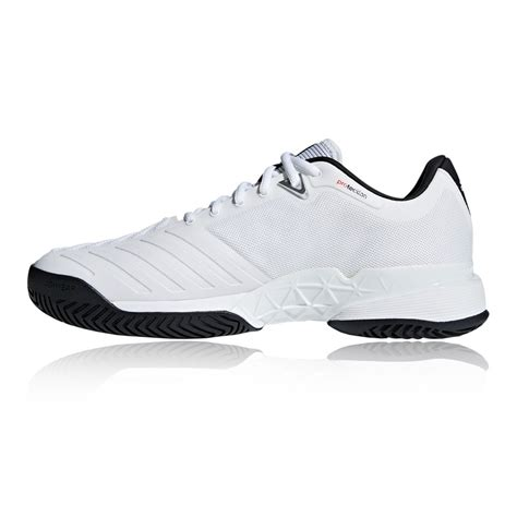 adidas mens barricade 2018 tennis shoes white sports breathable lightweight ebay