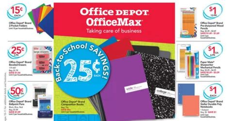 Office Depot Dallas by Office Depot And Officemax Back To School Deals July 23rd