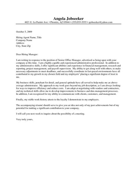 administrative assistant resume cover letter