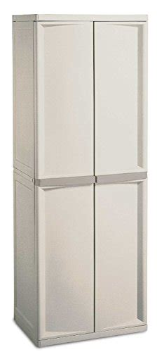 Sterilite 4 Shelf Utility Storage Cabinet Putty by 01428501 Sterilite 4 Shelf Utility Cabinet With Putty