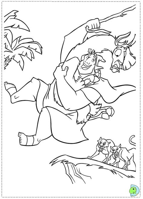 emperor coloring pages disney emperor s new groove kronk on