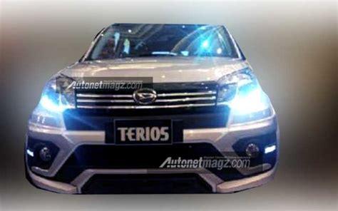 Lu Led Mobil Terios foto daihatsu terios facelift 2015 bocor