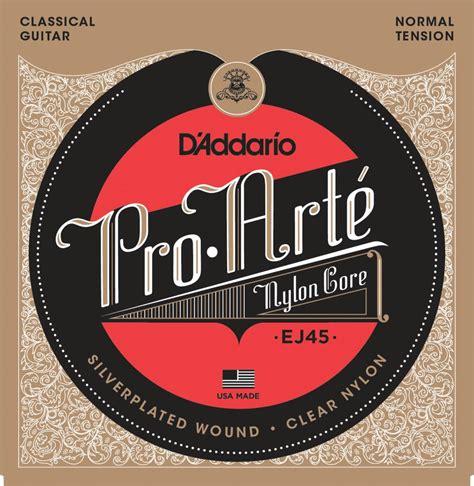 D Addario Pro Arte Strings - d addario ej45 pro arte classical guitar strings