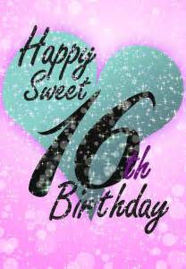 free printable sweet 16 greeting card birthday