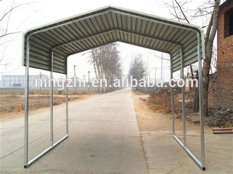Metal Frame Shelters Outdoor Backyard Car Shelter Steel Structure Car Shelter
