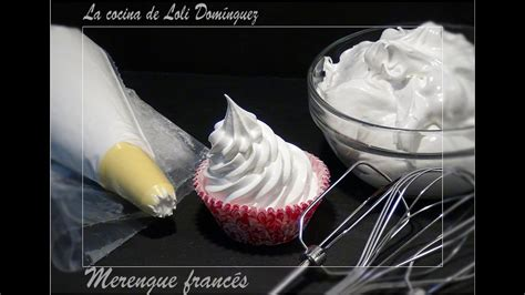 receta merengue frances recetas de cocina paso  paso tutorial youtube