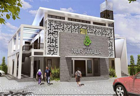 desain masjid modern desain properti indonesia