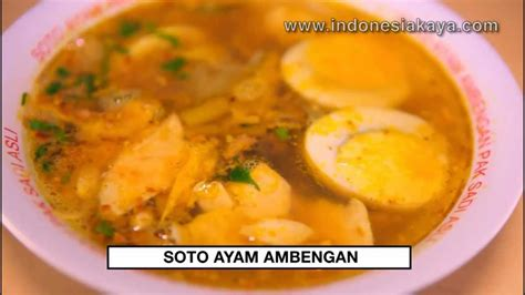 youtube membuat soto ayam soto ayam ambengan youtube