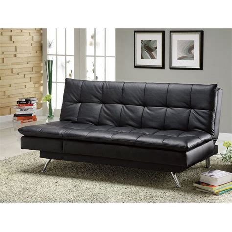 Benson Leatherette Sofa Bed Brookstone Nifty Ideas Bensons Sofa Beds