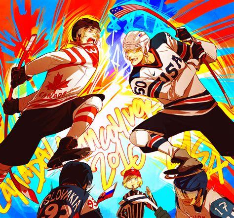 Kaos Anime Canada Knows Hockey axis powers hetalia 646734 zerochan