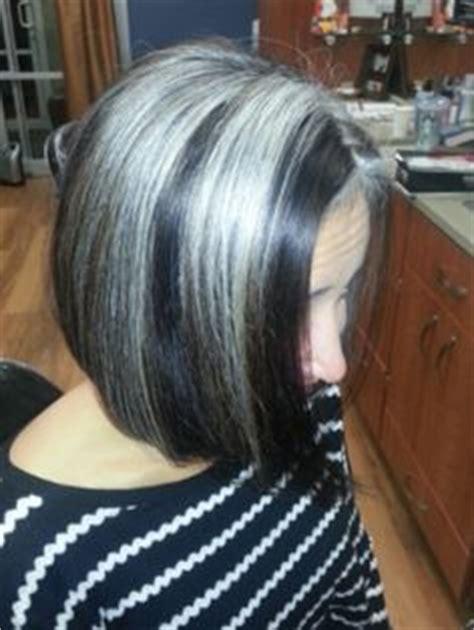 grow hair bob coloring embracing my grey hair on pinterest gray hair grey hair