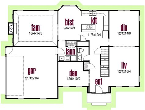 classic colonial floor plans classic colonial exterior 20519dv architectural