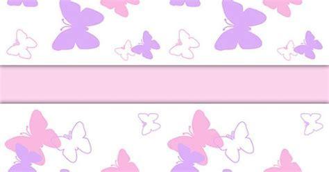 BUTTERFLY NURSERY DECOR Wallpaper Border Pink Purple Wall