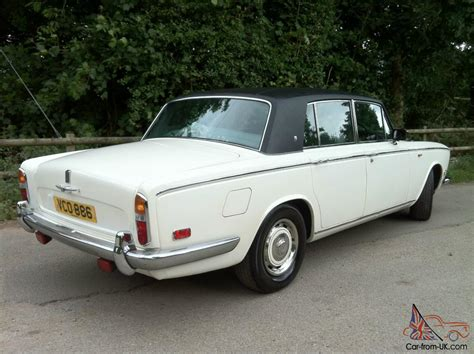 1970 rolls royce silver shadow 1 tax exempt chrome bumpers