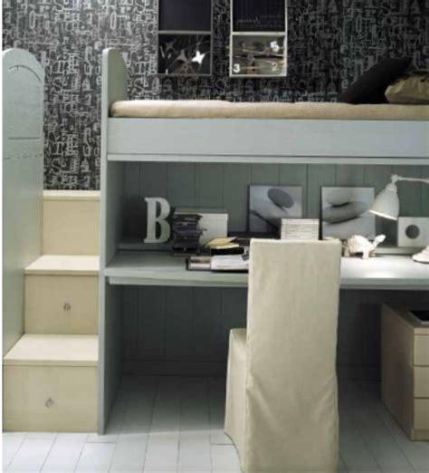 letto a con scrivania sotto letto con scrivania sotto soppalco ks soppalco con letti