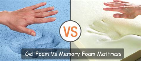Gel Foam Mattress Vs Memory Foam by Gel Foam Mattress Vs Memory Foam Do They Really Differ