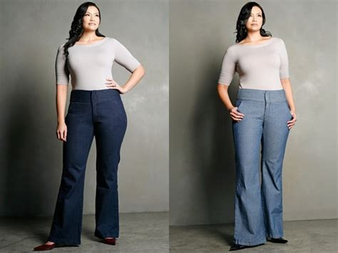 Dressing Up Wide Leg Make Them Your Fashion Forward Denim Choice by Finding The Right Pair Of For A Curvy