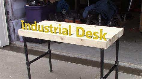 industrial  desk youtube