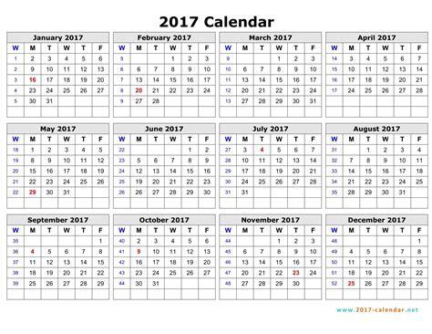 weekly calendar template 2017 mobawallpaper