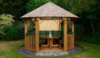 Luxury Gazebo Edward Luxury Wooden Gazebo Outdoor Garden Pavilion