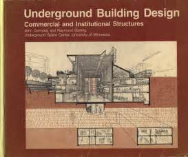 Home Building Design Books Alex Warren Architecture Interesting Books Underground
