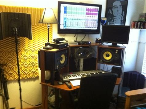 bedroom music studio setup the blue brick interior design blog