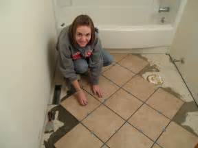 Installing Ceramic Tile As A Losey February 2012