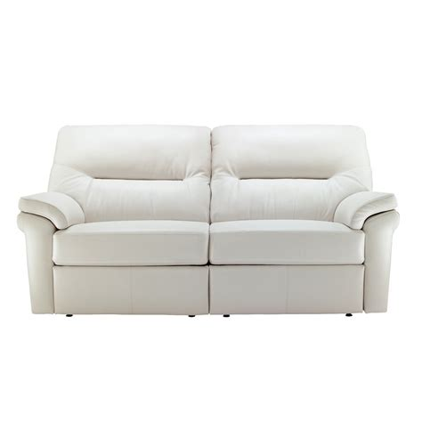 g plan settee g plan washington leather 3 seater sofa