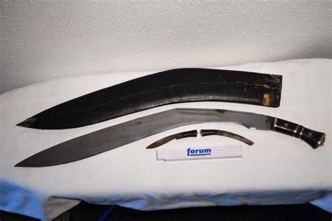 large kukri large kukri khukuri large curved knife with 2
