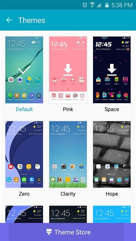 themes for galaxy a7 20 official samsung galaxy themes that don t totally suck