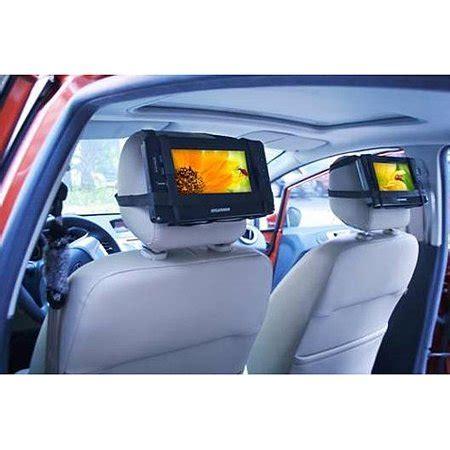 Shp Cars Sbm 627 Black sylvania 9 dual screen portable dvd player black autos post